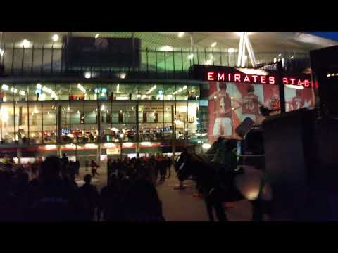 Milan Club London arrives to Emirates Stadium - Arsenal Milan 2018