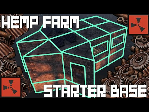 Rust – Hemp Farm Starter Base – Easy Scrap!