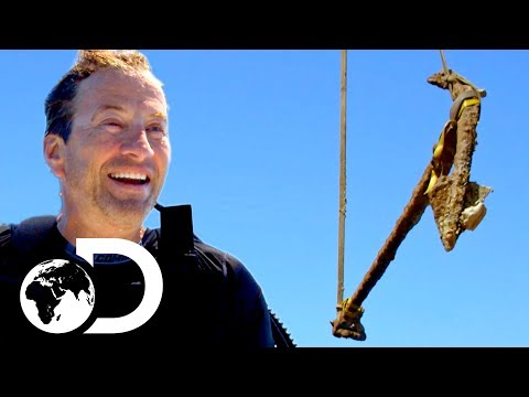 Darrell Finds 500 Year Old Anchor From Columbus' Shipwreck! | Cooper's Treasure