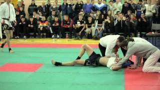 Бой по профессиональному дзэндо. 3 раунд(22 декабря 2013 в Иркутске, при поддержке ресторана доставки японской кухни