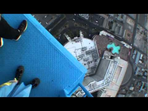 skydive from the stratosphere las vegas youtube
