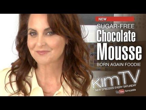 Sugar free Dairy Free Chocolate Mousse Recipe - kimTV