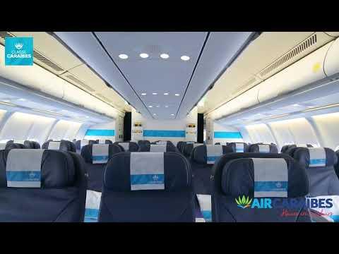 air caraibes interieur avion a330