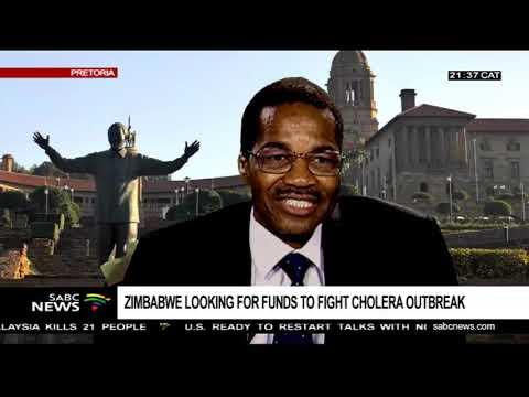 Zimbabwe cholera outbreak: Dr. Brian Chirombo