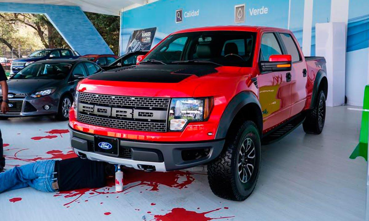 Ford lobo raptor svt 2014 en concurso de la elegancia 2013 autocosmos youtube