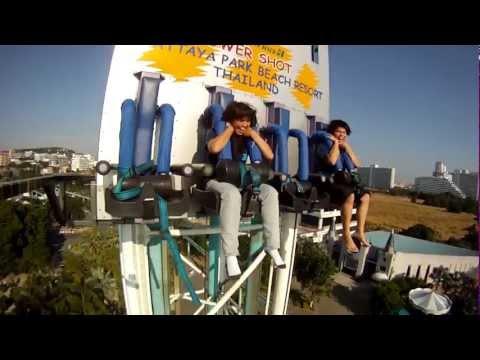 Test Camera Iphone 4S 1080p Tower Shot Pattaya Park