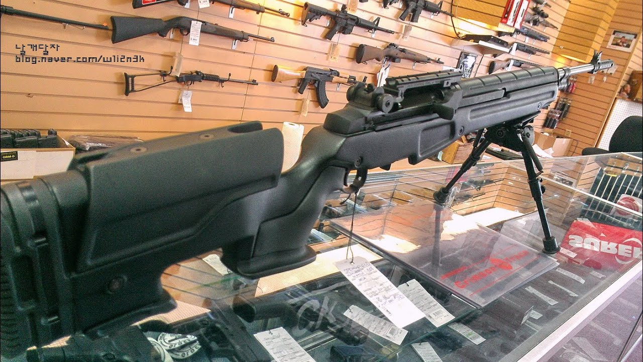 Springfield M1a 762mm Nato Jae 100 Polymer Stock Custom Rifle Youtube