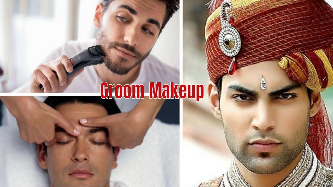Easy Grooming Makeover Tips  Men Makeup Tutorial  Wedding Groom Make up
