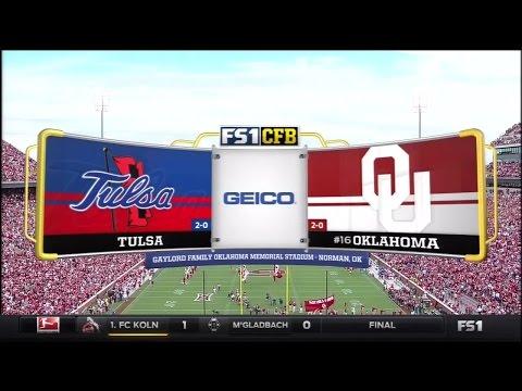 OU Vs Tulsa 2015
