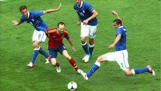 Andrés Iniesta - TOP 10 Najpiękniejszych Bramek w Karierze ᴴᴰ