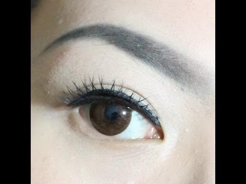 Cara Membuat Alis Dengan Eyeshadow Youtube