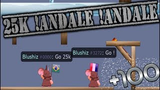 TRANSFORMICE - Blushiz 25K !Andale !Andale (Troll,Funny,Hack...)
