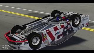 NASCAR HEAT 2 Crazy Wrecks/Crashes!
