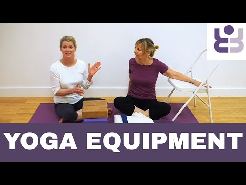 Yoga Kit For Iyengar Yoga - Lin And Leo Explain Yoga Equipment