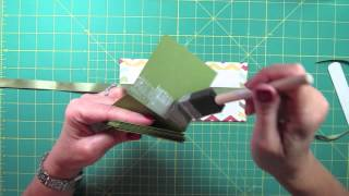 Cute handmade miniature photo album