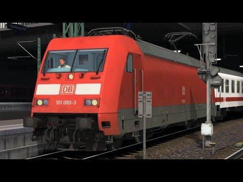 Intercity 2221 Bereitstellung in Hamburg HBF BR101 MET Führerstandsmitfahrt Train Simulator 2017 |