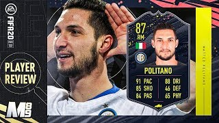 Fifa 20 storyline politano review | 87 player ultimate team