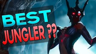 BEST JUNGLER IN 6.18? Elise Jungle Gameplay - How to Carry #43 League of Legends