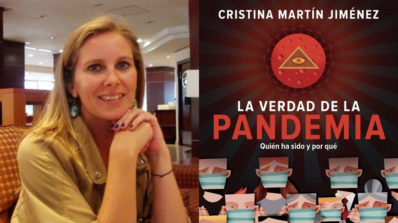 Entrevista a Cristina Martín Jiménez, autora de 'La verdad de la Pandemia'