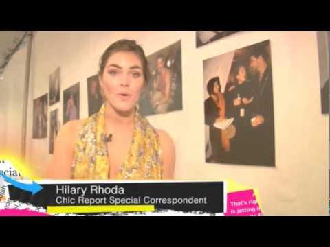 2/19/10 Fashion Week. Hilary Rhoda interviews DVF, Coco Rocha and more.