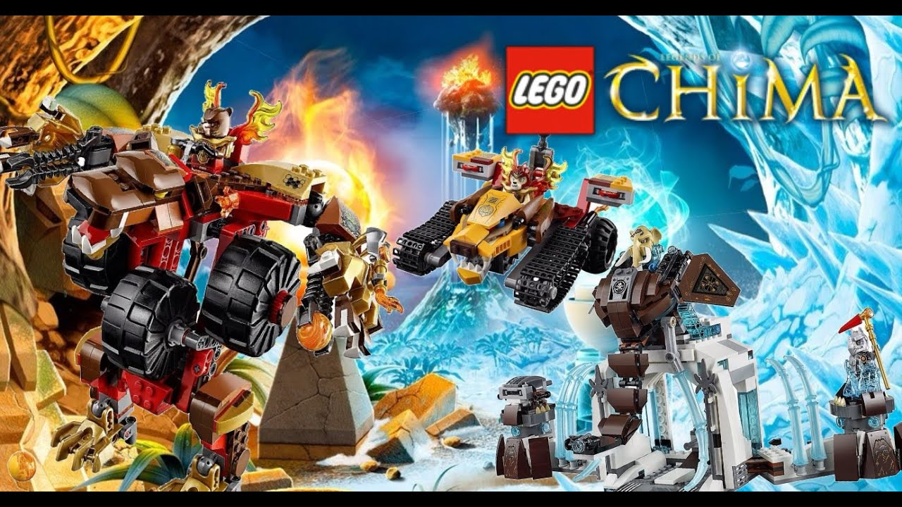 Lego legends of chima summer 2015 official set images 4k youtube - Lego chima a colorier ...