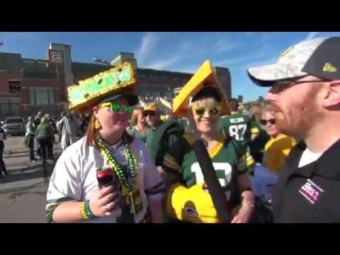 Fan Cam - Packers vs. Cowboys at Lambeau Field
