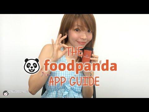 FoodPanda App Guide | Tiffany Yong