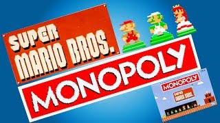 SUPER MARIO BROS. MONOPOLY! Collectors Edition Board Game Unboxing