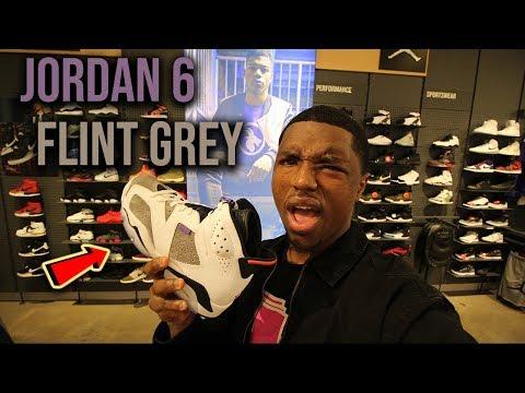 "Air Jordan Flight Nostalgia ""Flint Grey"" Pickup Vlog"