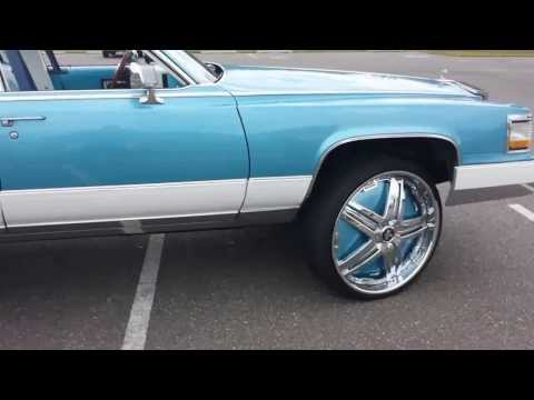 FLAWLESS 1990 CADILLAC BROUGHAM ON 26's