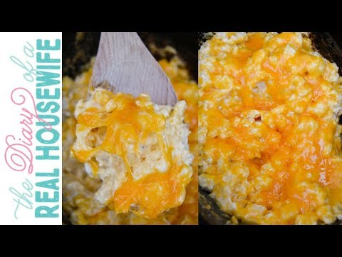Slow Cooker Cheesy Potato Casserole | The Diary Of A Real Housewife