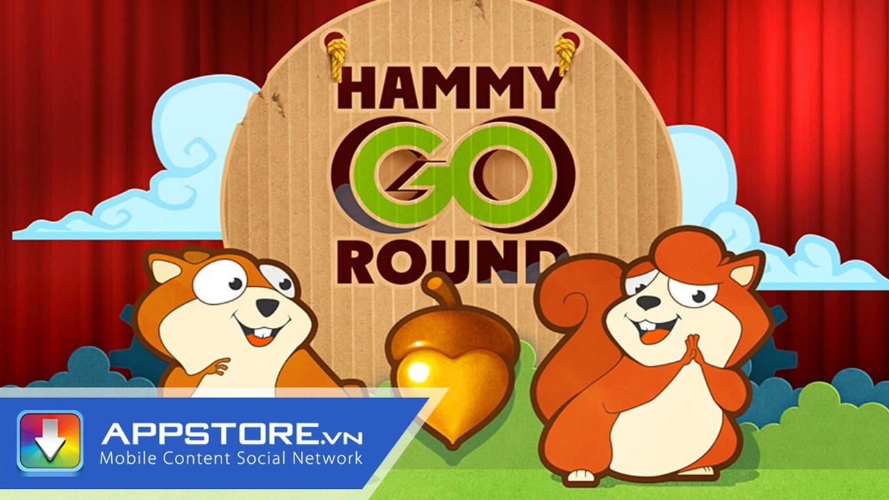 [iOS Game] Hammy – Cuộc phiêu lưu của sóc chuột – AppStoreVn