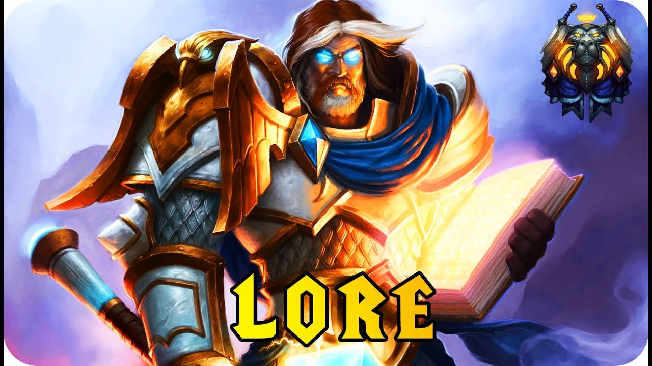 The story origin of the paladin wow lore youtube for Wow portent 5 4