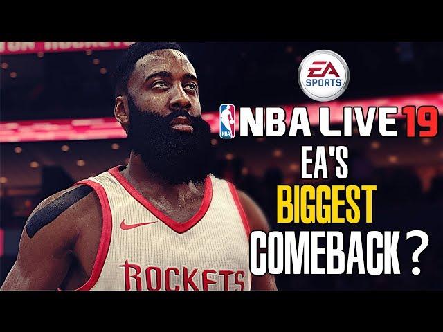 NBA Live 19  EA s trump card 7ae36dccc