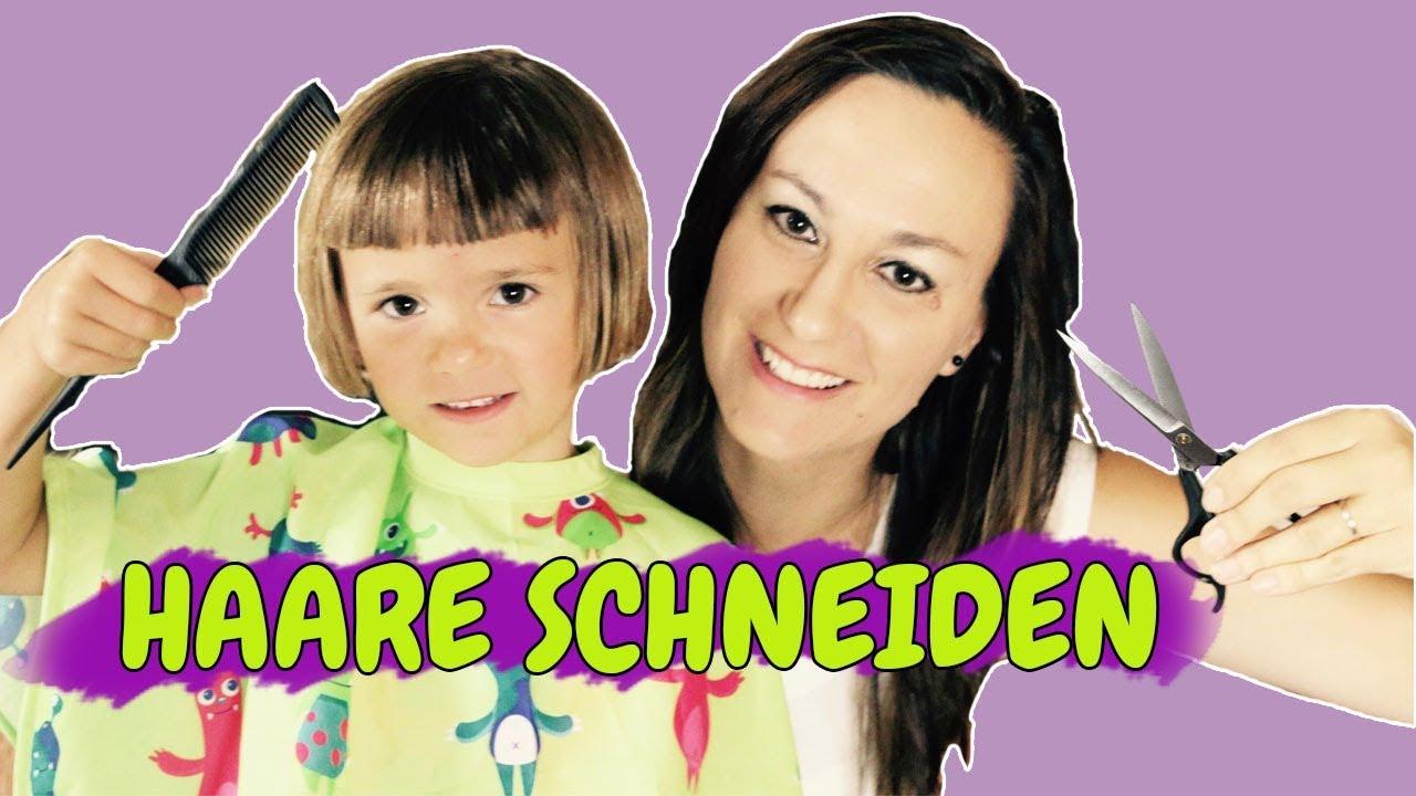 Kindern Die Haare Schneiden Mädchenfrisur Kinderfrisur Bob