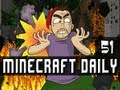 Minecraft Daily | Ep.51 Ft Kevin and STeVEEEN | LavaFarts!