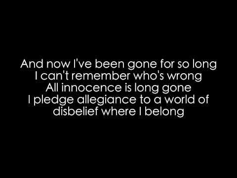 Walking Disaster Sum 41 lyrics