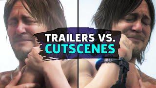 Death Stranding - Trailers Vs Game Release Cinematics