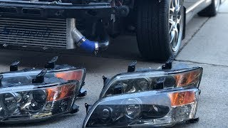 EVO 8/9 Headlights // USDM Mitsubishi  Evolution Headlight Overview