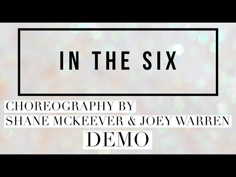IN THE SIX Line Dance Demo, Choreography By Shane McKeever & Joey Warren