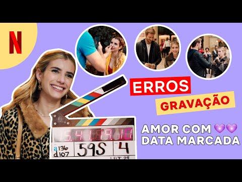 Erros de gravação de Amor com Data Marcada | Netflix Brasil