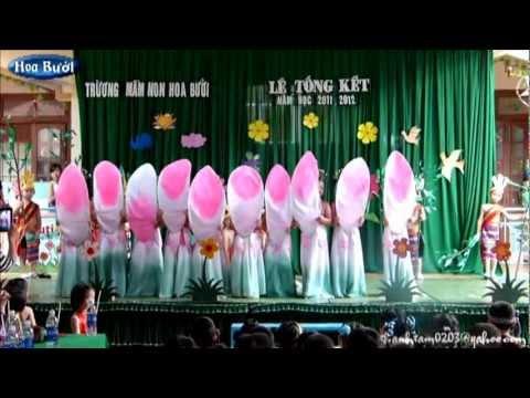 Trường Mầm Non Hoa Bưởi(lễ tổng kết năm học 2011-2012)-tx.Gia Nghĩa-t.Đắk Nông