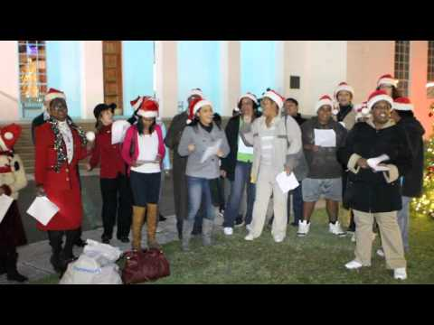 Caroling with Power Girl and Crew Bermuda December 21 2011