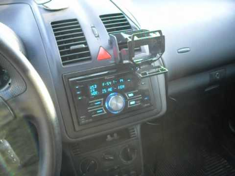 vw polo 6n2 2001 subwoofer mini test 22-06-2012 - YouTube