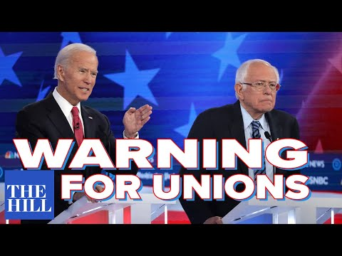 Bernie Surrogate Eric Blanc: A dire warning for unions considering Biden