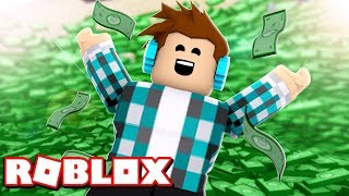 I GOT RICH!! I FOUND A LOT OF MONEY IN ROBLOX!!
