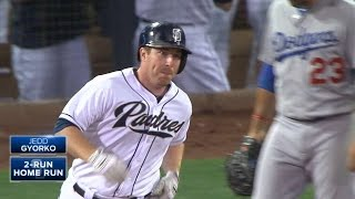 9/3/15: Gyorko's late homer lifts Padres past Dodgers
