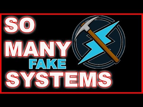 Fake People, Fake Coins, Fake Systems trying to Fleece us.