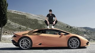 HOW TO PHOTOSHOP YOURSELF WITH A LAMBORGHINI