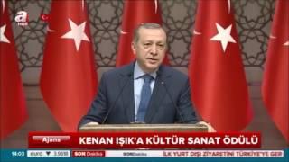 Erdoğan'dan Kenan Işık'a Mesaj
